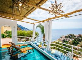 Eden House, hotel with pools in Positano