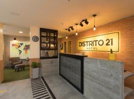 Hotel Distrito 21, hotel in Sabaneta