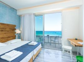 Meltemi Coast Suites, family hotel in Rethymno Town
