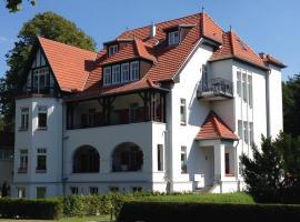 Villa Löwenstein, apartment in Kühlungsborn