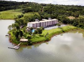 Pontal do Lago Flat Service, hotel in Caldas Novas
