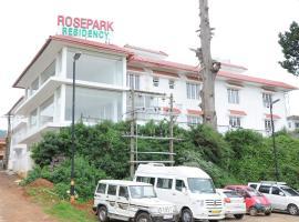 Rosepark Residency, hotel v destinaci Ooty