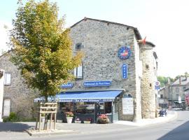 Hôtel Restaurant du Pont-Vieux, hôtel à Saint-Flour