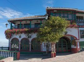 Hotel Portón De Ocetá, hotel in Monguí