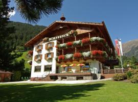 Pension Almrausch, hotel in Neustift im Stubaital