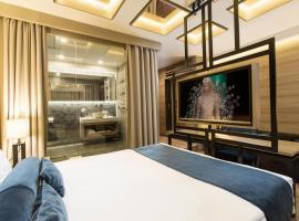Eden Luxury Suites Terazije: Belgrad'da bir Oda ve Kahvaltı