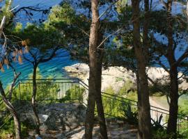Apartments by the sea Brela, Makarska - 2713, apartment in Brela
