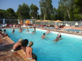 Camping Parc Valrose, hôtel à La Londe-les-Maures près de: Golf de Valcros
