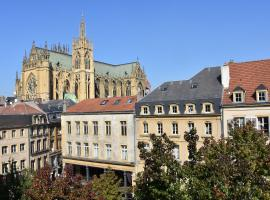 grand appartement vue cathedrale, appartement à Metz