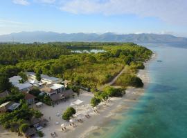 MAHAMAYA Gili Meno, beach hotel in Gili Meno