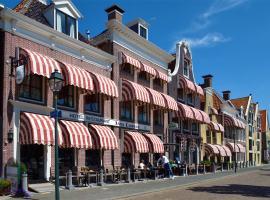 Hotel Anna Casparii, hotel near Harlingen Haven Station, Harlingen