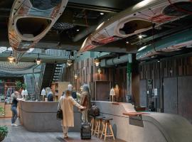 Downtown Camper by Scandic, hotell i Stockholm