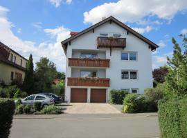 Haus Seeblick, apartment in Bad Staffelstein