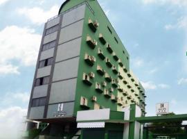 Halley Plaza Hotel, hotel in Unaí