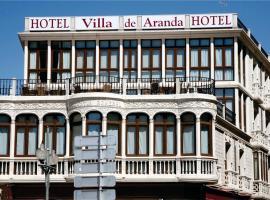 Hotel Villa de Aranda, hotel in Aranda de Duero