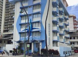 Holiday Surf Hotel (with full kitchen), viešbutis Honolulu