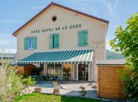 Café Hôtel de la Gare, hôtel à Champagnole
