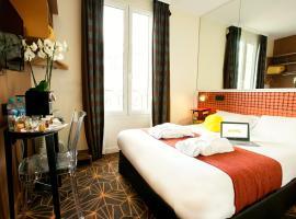 Hotel Olympic by Patrick Hayat, viešbutis mieste Bulonė-Bijankūras