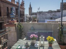 Awesome Penthouse, apartmen di Seville