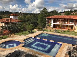 Hotel Casa Cantabria Campestre, hotel in Villa de Leyva