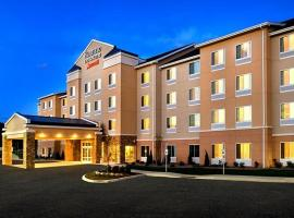 Fairfield Inn & Suites by Marriott Watertown Thousand Islands, hotel near OLG Casino Thousand Islands, Watertown