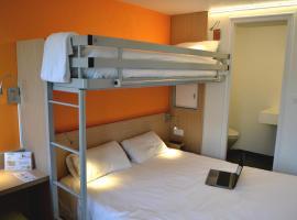 Première Classe La Roche Sur Yon - Vendéspace、ムイユロン・ル・カティフのホテル