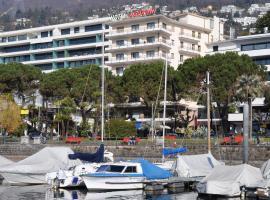 Hotel Geranio Au Lac, hotel in Locarno