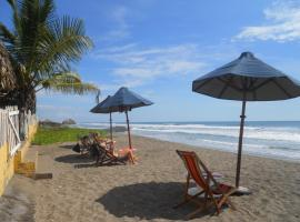 Beach Hostal Oasis, homestay in Las Peñitas