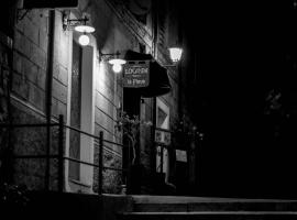 Viesnīca Locanda La Pieve pilsētā Semproniano, netālu no apskates objekta spa Saturnia