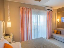 WhiteSands Beach Resort, hotel blizu znamenitosti Plaža Valtos, Paralija Vrahu