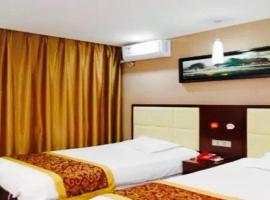 Thank Inn Chain Hotel Jiangsu Suzhou likou Metro Station、蘇州市のホテル