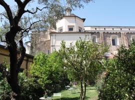 Studios Garden Terrace Oltrarno, hotel cerca de Iglesia de Ognissanti, Florencia