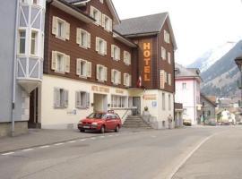 Hotel Gotthard, hotel near Gotthard Road Tunnel - North Portal, Göschenen