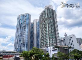 Wallace P Staycation, hotel near Berjaya Times Square, Kuala Lumpur