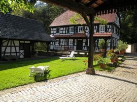 Ferme Auberge du Moulin des Sept Fontaines, B&B/chambre d'hôtes à Drachenbronn-Birlenbach