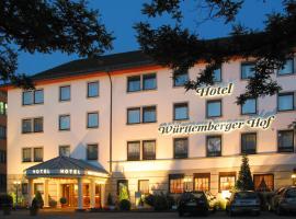 Hotel Württemberger Hof, отель в Ройтлингене