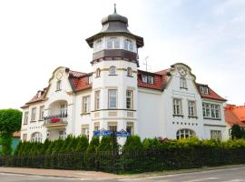 Villa Richter, family hotel in Międzyzdroje