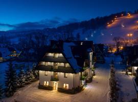 Willa Stachoń, hotel near Harenda Valley, Zakopane