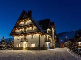 Willa Stachoń – hotel w pobliżu miejsca Harenda w Zakopanem