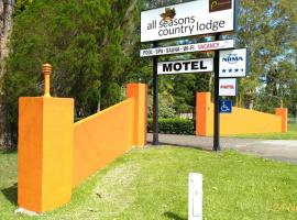 All Seasons Country Lodge, motel in Taree