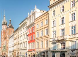 Venetian House Market Square Aparthotel, boutique hotel in Kraków