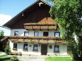 Bauernhof Willi Perner, farm stay in Nussdorf am Attersee