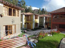 Hotel Pisonay Pueblo, accessible hotel in Urubamba