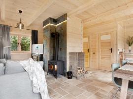 SeaUSasino - Dom Pierwszy - Luksusowe Drewniane Domy z Kominkami – dom wakacyjny w Sasinie