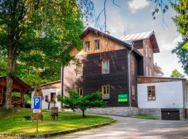 Chata Eduard, hotel poblíž významného místa Praděd, Bělá pod Pradědem