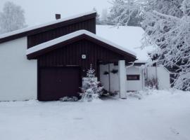 The house near Santa Park, loma-asunto Rovaniemellä