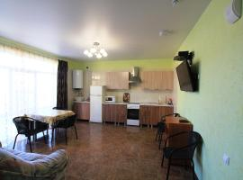 2-bedroom Apartment with a terrace, pet-friendly hotel in Vityazevo