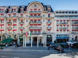 Lausanne Palace, hôtel à Lausanne