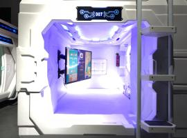 MET A Space Pod @ Chinatown, capsule hotel in Singapore