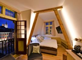 Rooms With A View, vakantiewoning in Gent